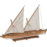 Arrow Gunboat 1814 Amati Model Ship Kit