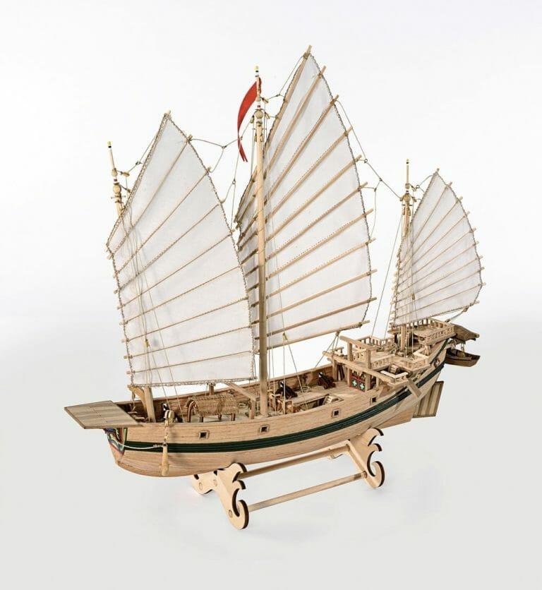 Chinese Junk Amati Model Ship Kit