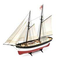 Hunter Q Ship - Amati Model Ship Kit