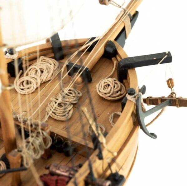 Pirate Ship Adventure Amati Model Ship Kit Detail 5