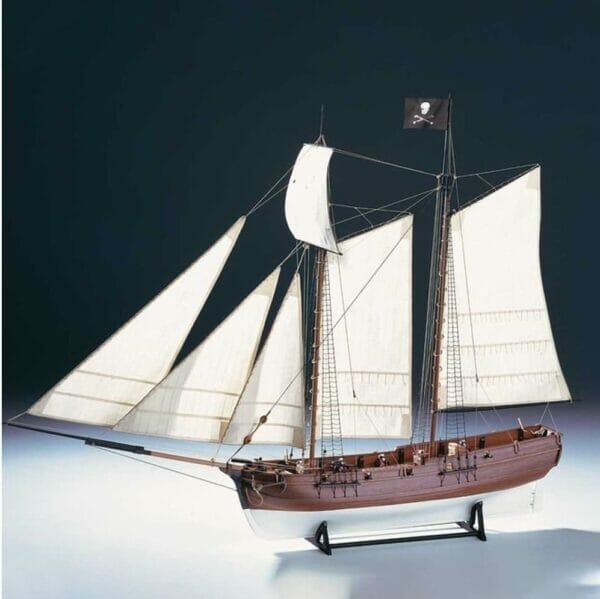 Pirate Ship Adventure Amati Model Ship Kit