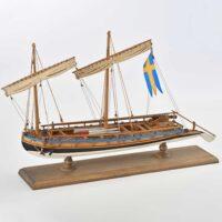 Swedish Gun Boat - Amati Model Ship Kit