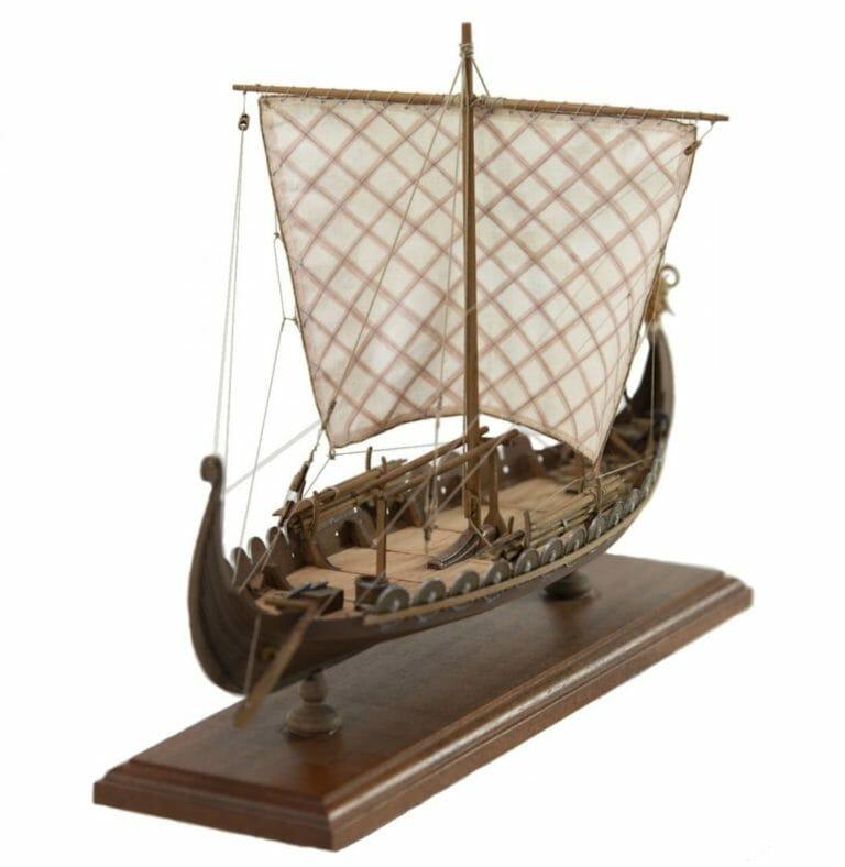 Viking Ship Drakker - Amati Model Ship Kit