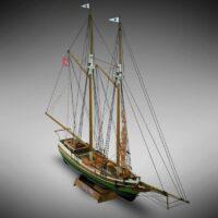 Flying Fish - Mini Mamoli - Childrens Model Ship Kit