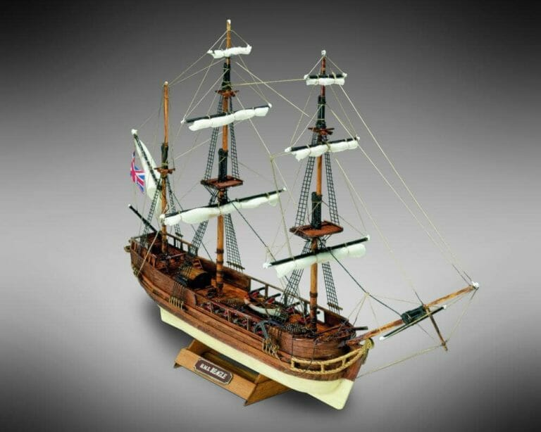 HMS Beagle - Mini Mamoli - Childrens Model Ship Kit