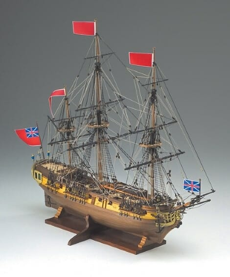 HMS Greyhound - Corel Model Ship Kit