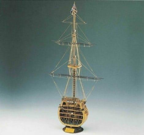 HMS Victory - Mid Ship Cross Section - Corel Model Ship Kit
