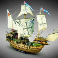 Sao Miguel Carrack 16th Century - Mamoli Model Ship Kit