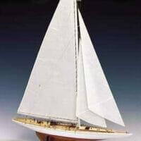 Rainbow Wooden Yacht Model Kit by Amati