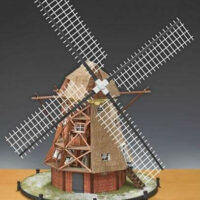 Windmill Wooden Model Kit by Amati