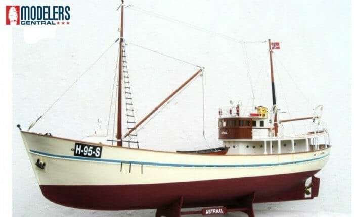 Astraal Model Boat Kit by Nordic Class Models
