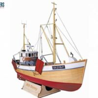 MS Conny Fishing Boat Model Ship Kit by Nordic Classic Models