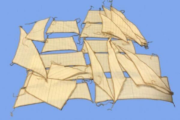 Gorch Fock Model Ship Sail Set by Mantua