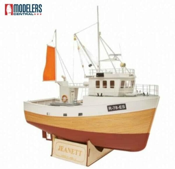 Jeanette Model Boat Kit by Nordic Class Models