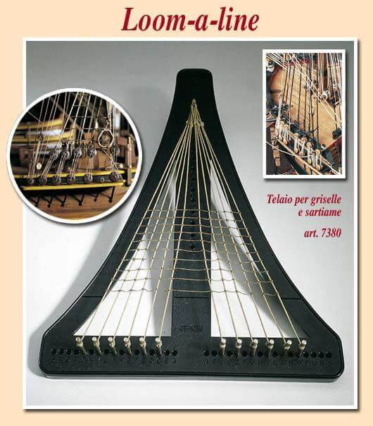 Loom A Line Rigging Stand Modeling Tool by Amati