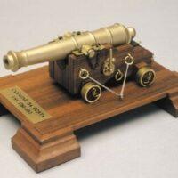 American Coast Cannon Wooden Model Kit by Mantua