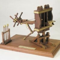 Byzantine Catapult Wooden Model Kit by Mantua