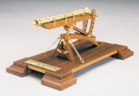 Falconet Wooden Model Kit by Mantua