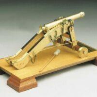 La Vallette Wooden Model Kit by Mantua