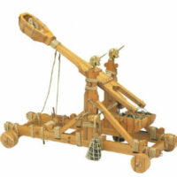 Norman Catapult Wooden Model Kit by Mantua