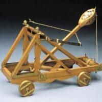 Roman Assault Catapult Wooden Model Kit by Mantua
