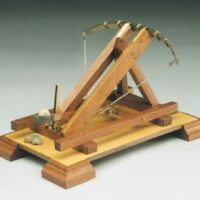 Roman Catapult Wooden Model Kit by Mantua