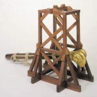 Roman Tower Wooden Model Kit by Mantua
