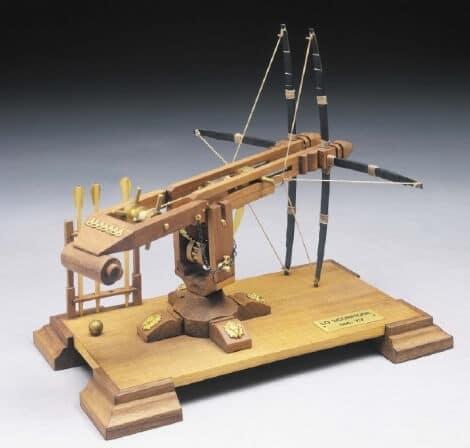 Scorpion Wooden Model Kit by Mantua