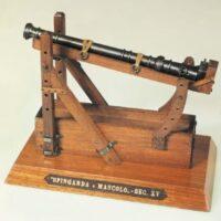 Springarda Cannon Wooden Model Kit by Mantua