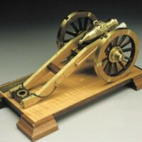 Tuscan Cannon Wooden Model Kit by Mantua