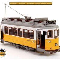 Lisbon Tram Wooden Model Kit by Occre