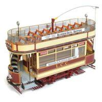 London Tram Wooden Model Kit by Occre