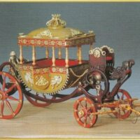 Egyptian Carriage Wooden Model Kit by Amati