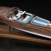 Riva Aquarama Wooden Model Boat Kit by Amati