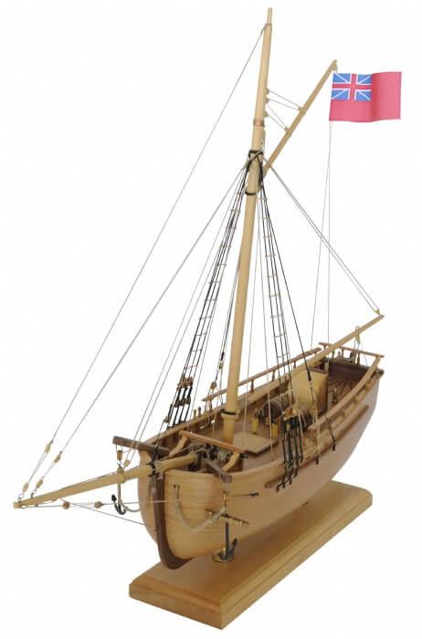 Sloop Norfolk Model Ship Kit by Modellers Shipyard