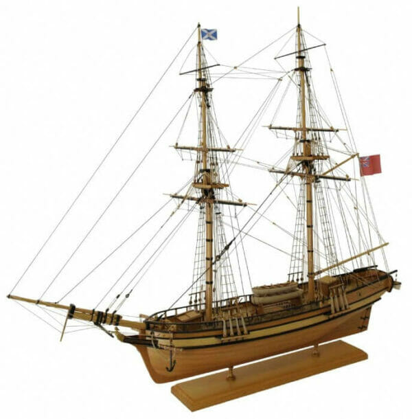 Brig Perseverance Model Ship Kit by Modellers Shipyard