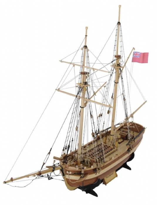 Schooner Port Jackson Model Ship Kit by Modellers Shipyard