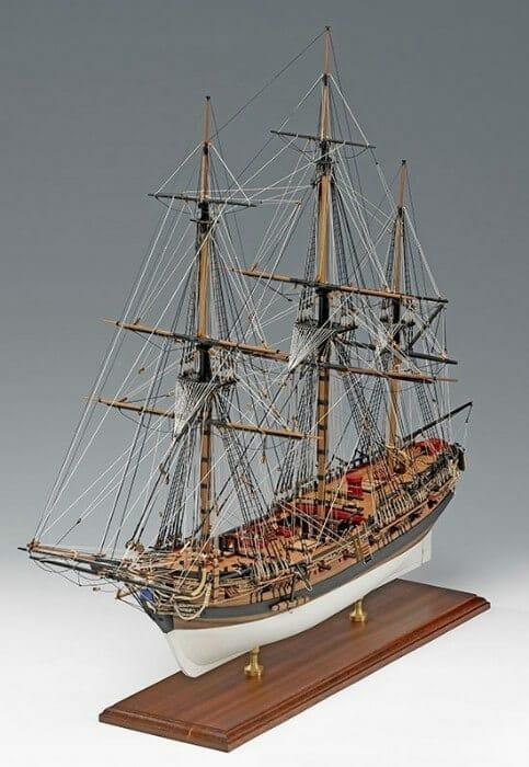 HMS Fly Model Ship Kit by Victory Models