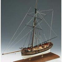 Lady Nelson Wooden Model Ship Kit by Victory Models