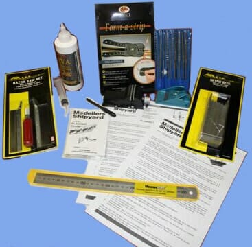 Model Ship Building Beginners Tool Kit