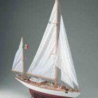 Corsaro II Model Yacht Kit by Corel