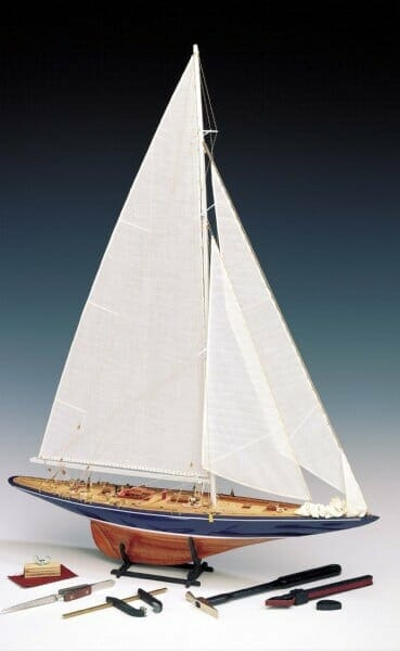 Endeavour Yacht Wooden Model Yacht Kit by Amati