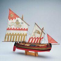 Trabaccolo Model Ship Kit by Amati