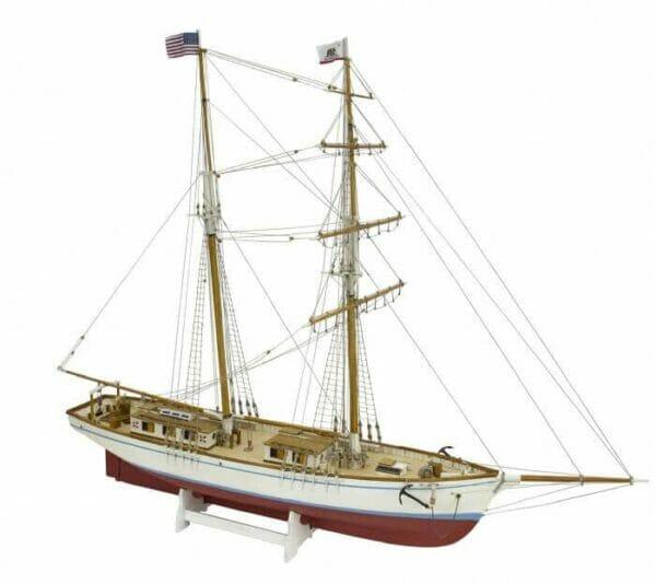 Matthew Turner Brigantine Model Ship Kit by Modellers Shipyard