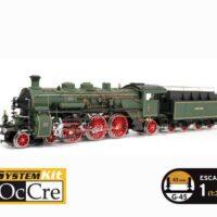Bavarian BR18 Locomotive Model Train Kit by Occre