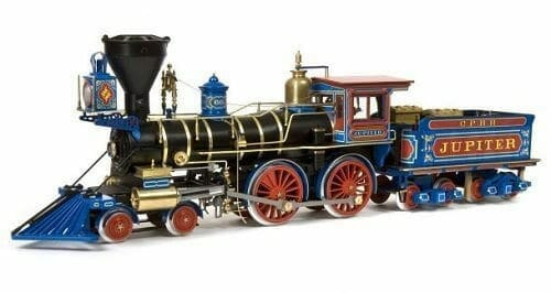 Jupiter Locomotive Model Train Kit by Occre Models