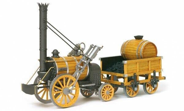 Rocket Wooden Model Train Kit by Occre